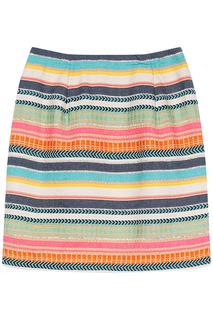 Яркая юбка в полоску La Reine Blanche