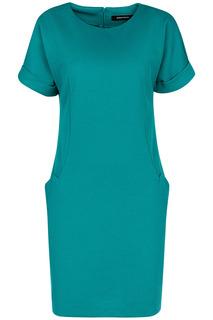 Платье-футляр с короткими рукавами La Reine Blanche