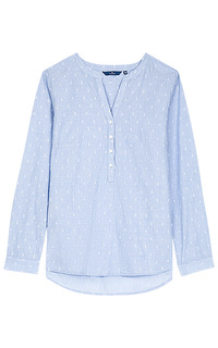 Хлопковая блузка Tom Tailor