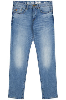 Синие джинсы S.Oliver Casual Man