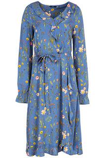 Платье с цветочным принтом Tom Tailor