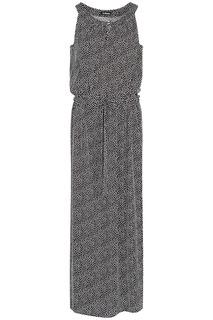 Платье-макси без рукавов LE Monique