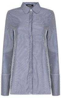 Рубашка в тонкую полоску La Reine Blanche