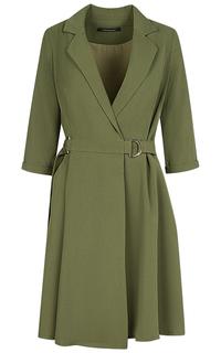 Зеленое платье La Reine Blanche