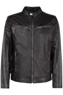 Кожаная куртка прямого кроя Urban Fashion for men