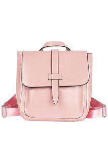 Кожаный рюкзак с комбинированными лямками La Reine Blanche