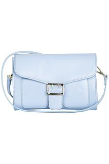 Голубая сумка-клатч La Reine Blanche