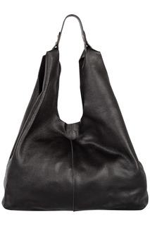 Черная сумка-хобо La Reine Blanche
