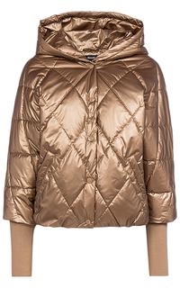 Утепленная куртка с комбинированными рукавами Neohit