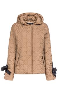 Куртка на синтепоне с капюшоном La Reine Blanche