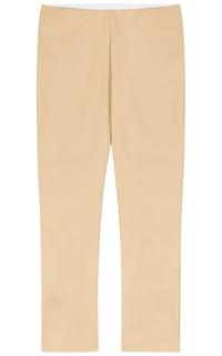 Бежевые брюки La Reine Blanche