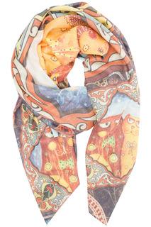 Полушерстяной платок Labbra