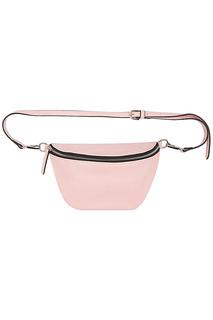 Розовая сумка на пояс La Reine Blanche