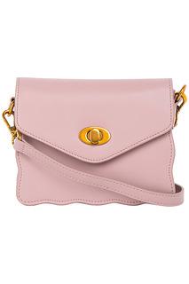 Розовая сумка-клатч La Reine Blanche