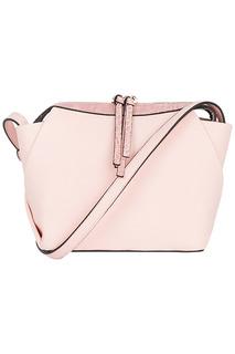 Розовая сумка из экокожи La Reine Blanche