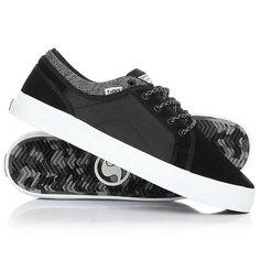 Кеды кроссовки DVS Aversa+ Black White Suede