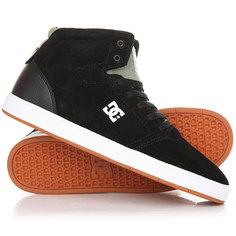 Кеды кроссовки высокие DC Crisis High M Shoe Black/Olive