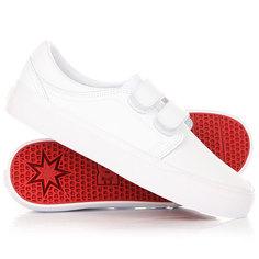 Кеды кроссовки низкие женские DC Trase V Se White/Athletic