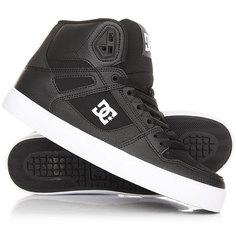 Кеды кроссовки высокие DC Pure Shoe Black/White