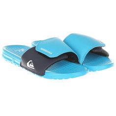 Шлепанцы детские Quiksilver Shoreliadjustyt Blue/Blue/Black
