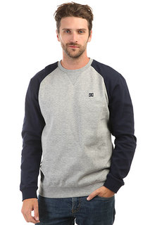 Свитшот DC Glenties Crew Grey Heather