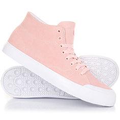 Кеды кроссовки высокие DC Evan Hi Zero Light Pink