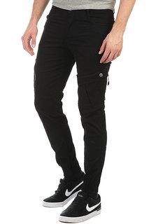 Штаны прямые Skills Asymmetric Pants Black