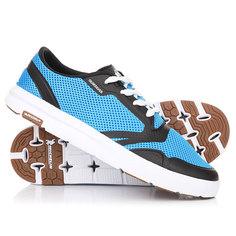 Кеды кроссовки низкие Quiksilver Amphibian Plus Blue/Black/White