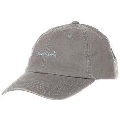 Бейсболка классическая Diamond Script Sports Hat Green