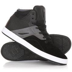 Высокие Кеды кроссовки DC Frequency Hi Shoe Black/White
