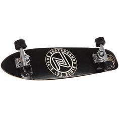 Скейтборд в сборе Z-Flex Circle Cruiser Black/White