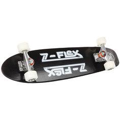 """Скейт круизер Z-Flex Z-bar Cruiser 29"""" Black/White"""