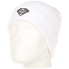 Шапка Diamond Brilliant Fold Beanie White