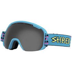 Маска для сноуборда Shred Smartefy Tritris Stealth Neon Blue