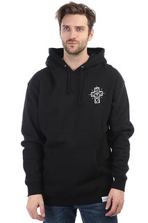 Толстовка кенгуру Diamond Dogtown Oster Hoodie Black