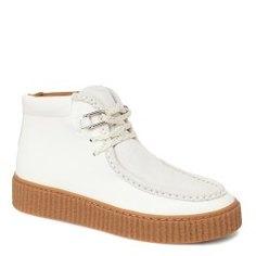 Ботинки NO NAME PICADILLY MID PINK белый