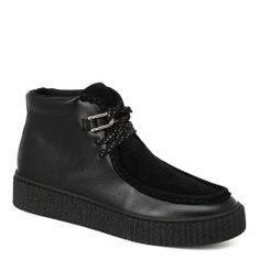 Ботинки NO NAME PICADILLY MID BRD черный
