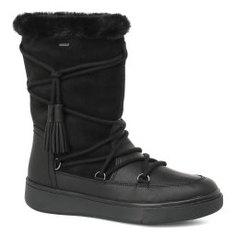 Ботинки GEOX D743MA черный