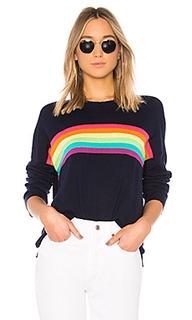 Свитер rainbow stripes - SUNDRY