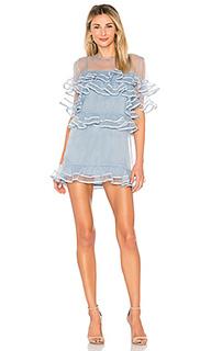 Мини-платье с короткими рукавами wyatt - Tularosa