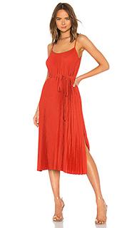 Платье pleated cami - Vince