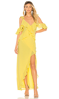Вечернее платье с запахом collette - Michael Costello