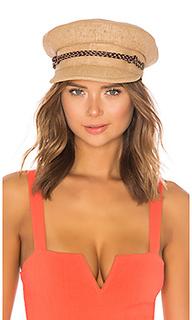 Шляпа kayla straw - Brixton