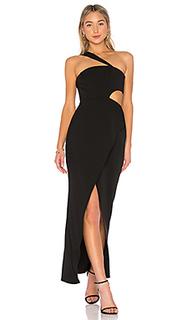 Платье с одним плечом acasia - BCBGMAXAZRIA