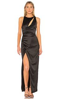 Вечернее платье с высоким разрезом cypress park - NBD