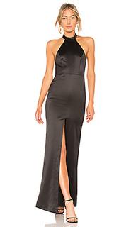 Вечернее платье с американской проймой holmby hills - NBD