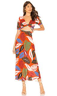 Wrap top and skirt set - Rachel Pally