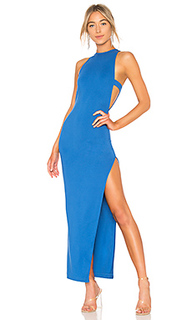 Вечернее платье с высоким разрезом late night - NBD