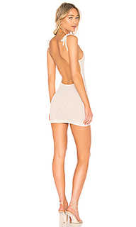 Вязаное мини платье slinky - NBD