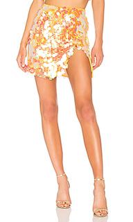 Мини юбка с блестками payette sequin - LPA